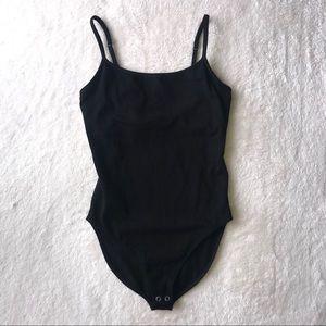 Express Black Bra Cami Bodysuit XS